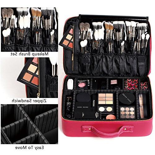 Makeup Professional Organizers Portable Makeup Train Best Gift For