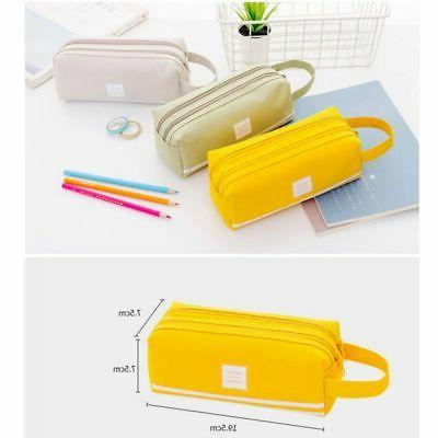 School Students Case Storage Womens Pouch Bag Zip Wallet