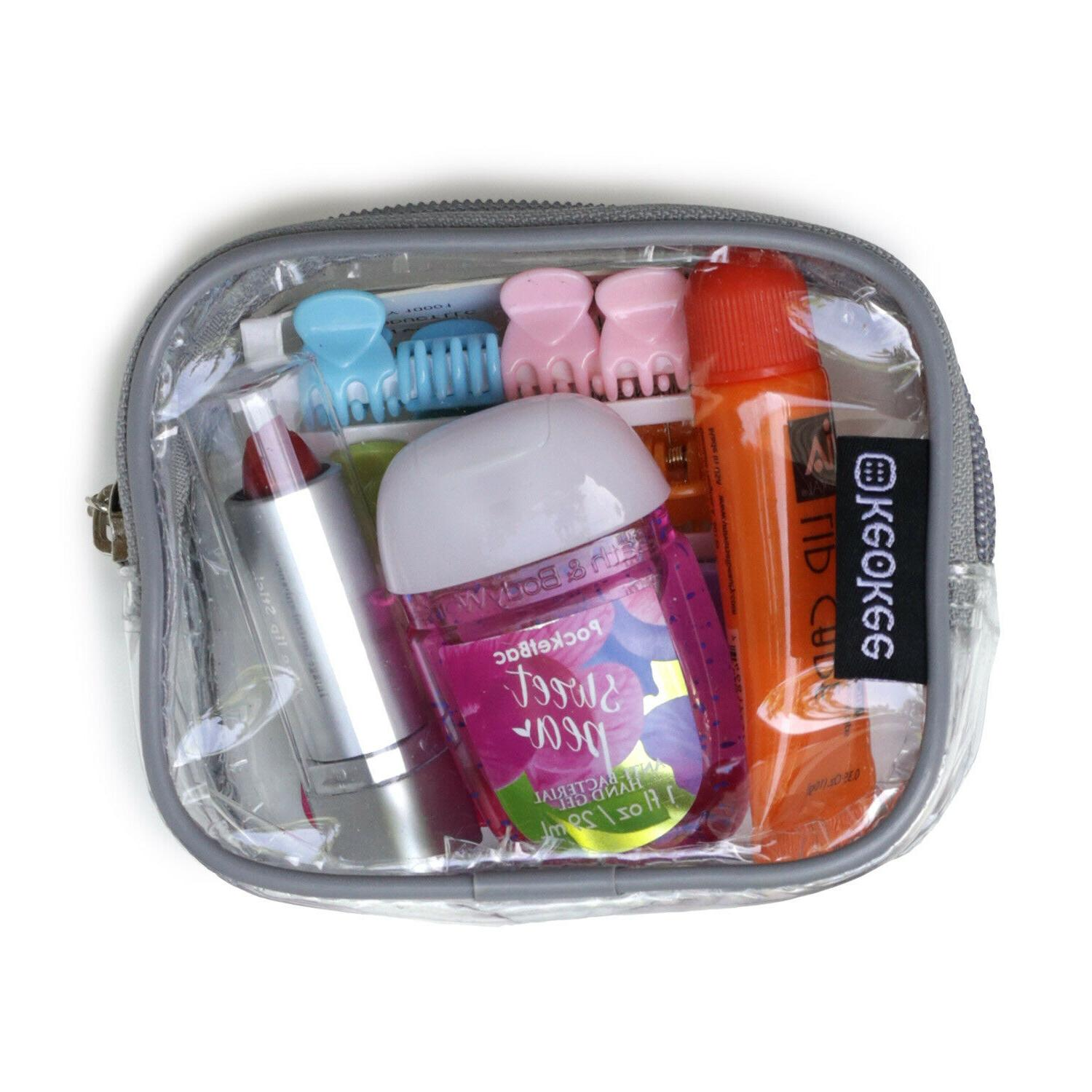 Small Cosmetics and Case Travel Organizing
