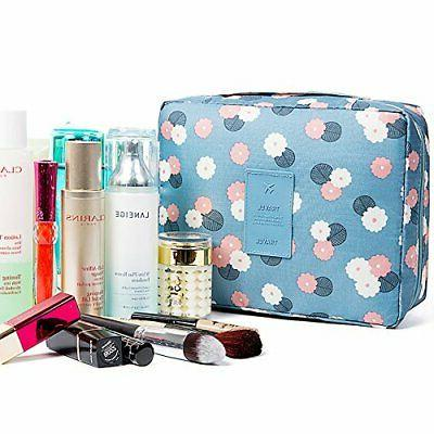 HaloVa Toiletry Bag Cosmetic Bag Makeup Pouch Waterproof