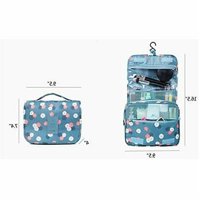HaloVa Toiletry Bags Multifunction Cosmetic Portable Makeup Waterproof For