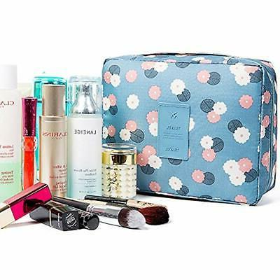 HaloVa Bags Cosmetic Portable Makeup Waterproof For