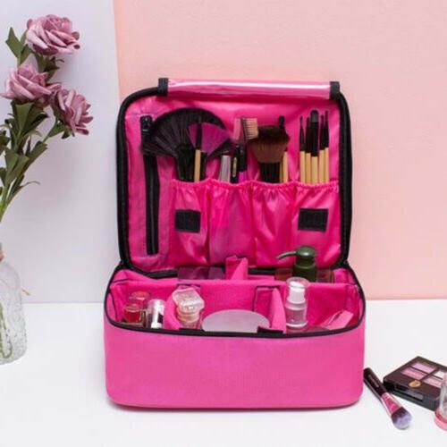 Train Case Makeup Backpack Cosmetic Bag Organize