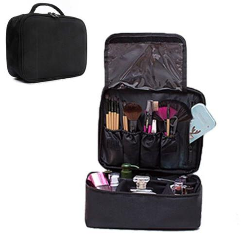 Makeup Backpack Cosmetic Organize Carry