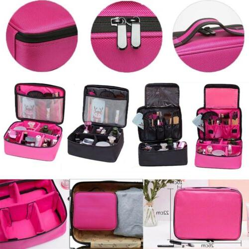 Train Case Makeup Backpack Cosmetic Organize