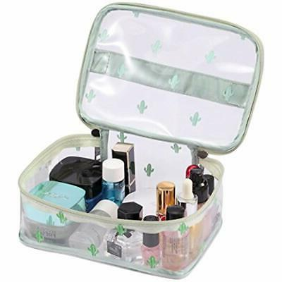Train Cosmetic Bag With Top Middle