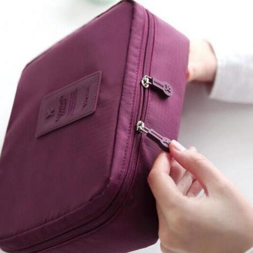 Travel Makeup Toiletry Case Pouch Wash Storage