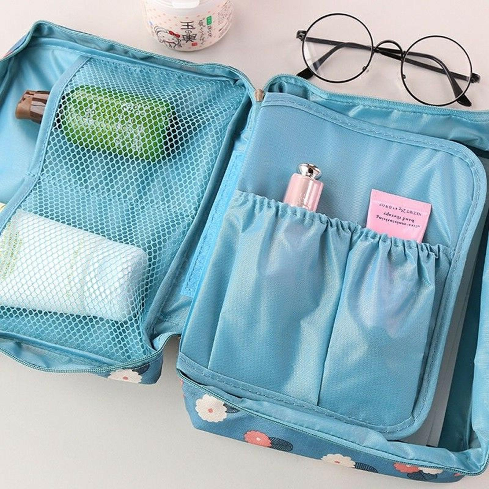 Travel Toiletry Case Storage Pouch