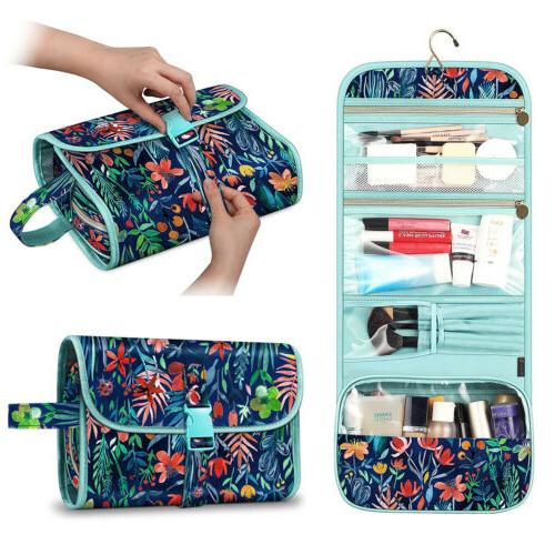 travel cosmetic makeup bag toiletry hanging organizer