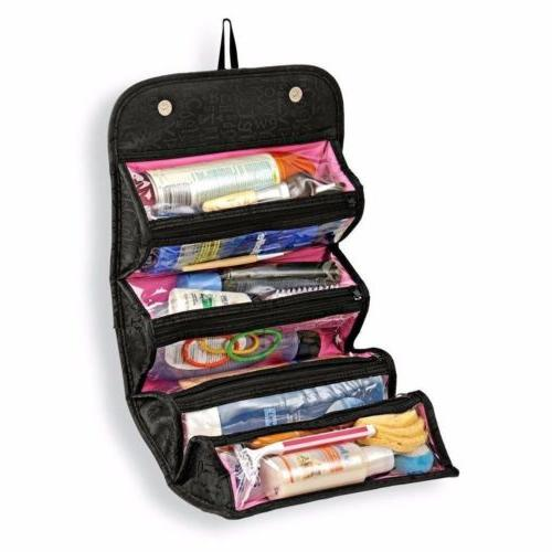 travel cosmetic makeup bag toiletry hanging zip