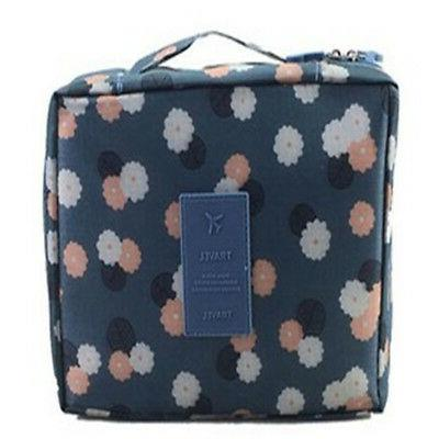 Travel Cosmetic Case Bag Wash Organizer Storage Pouch
