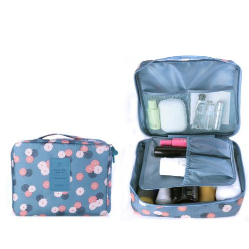 Travel Cosmetic Case Bag Wash Storage