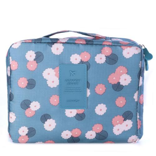 Travel Cosmetic Makeup Case Wash Storage Pouch Handbag