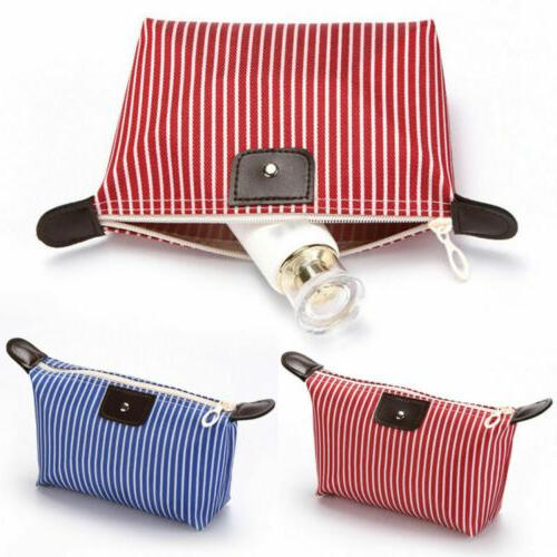 Travel Fabric Makeup Bag Storage Pouch