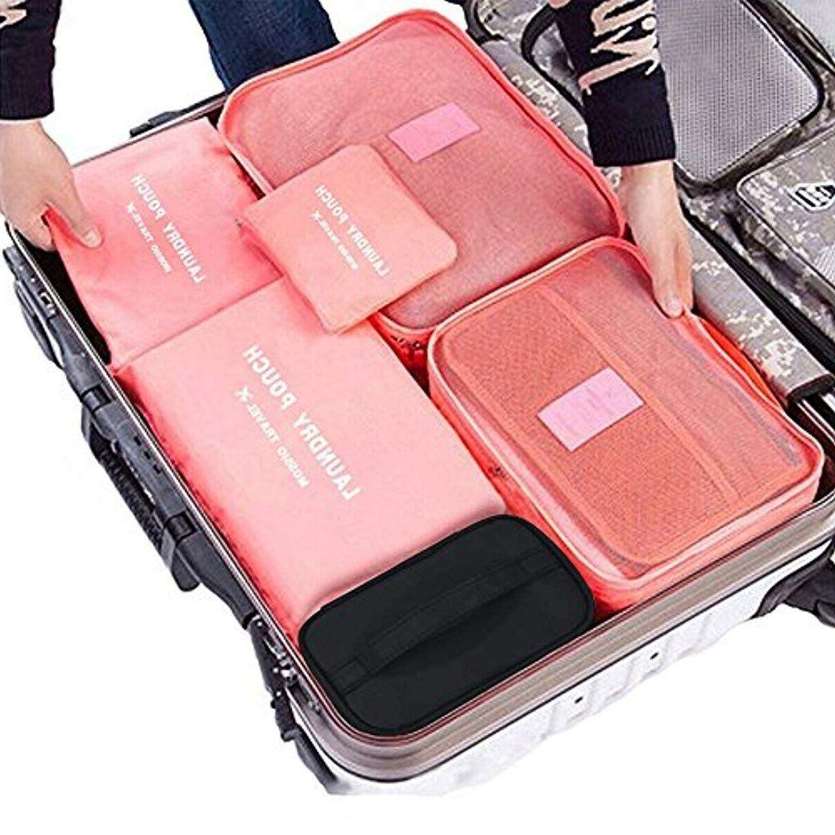 Travel Makeup Cosmetic Case Organizer