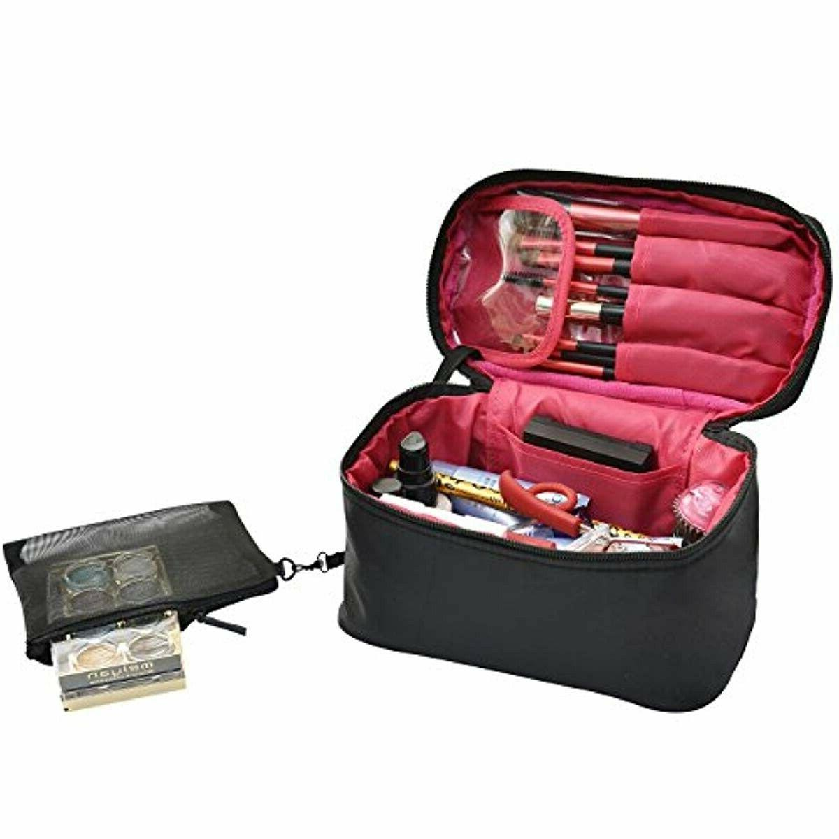 travel makeup bags small cosmetic case organizer