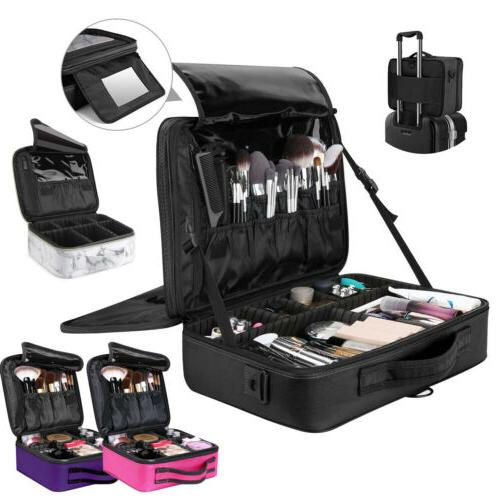 travel makeup box pro carring cosmetic case