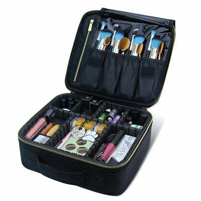 travel makeup case cosmetic bag organizer accessories