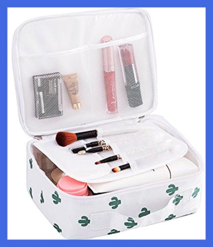 Travel Makeup Portable Brushes Toiletry Bag