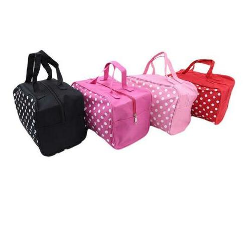 Travel Makeup Cosmetic Case Wash Organizer Pouch Bag