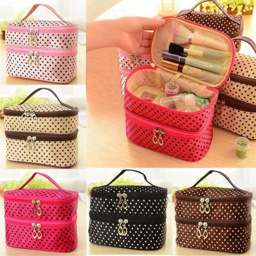 Travel Multifunction Cosmetic Bag Organizer Pouch Toiletry W