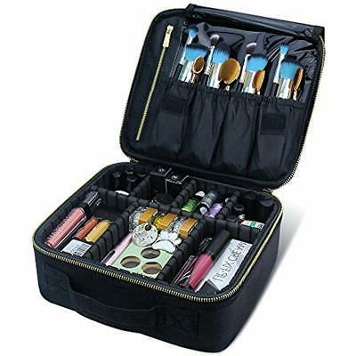 train cases travel makeup case professional cosmetic