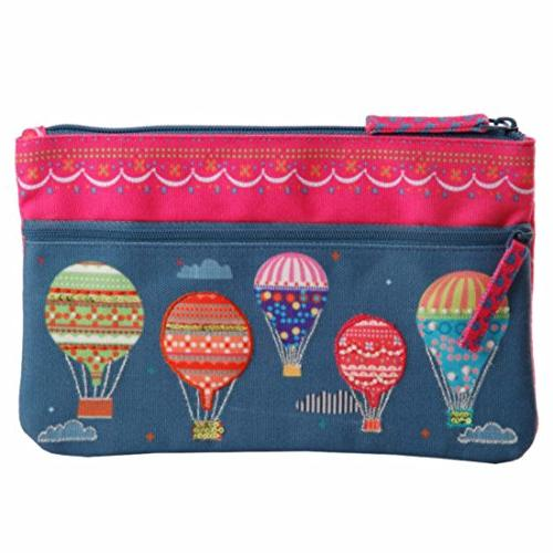 two zipper pouch purse bag