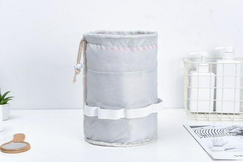 Barrel Travel Cosmetic Nylon Organizer