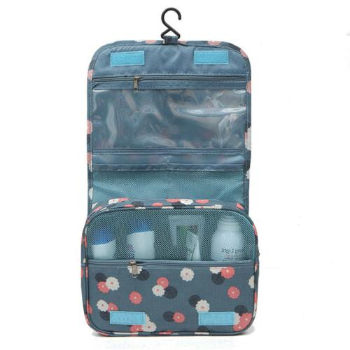 US Travel Makeup Bag Organizer Hanging Pouch