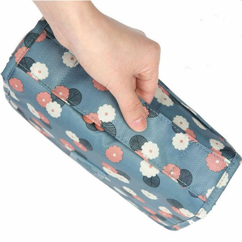 Waterproof Travel Cosmetic Makeup Bag Toiletry Pouch