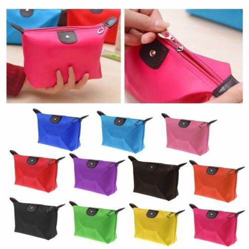 Waterproof Cosmetic Small Bag Travel Organizer Storage Box Case