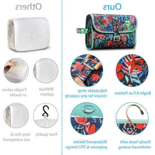 Travel Cosmetic Makeup Toiletry Hanging Storage Case Pouch Women
