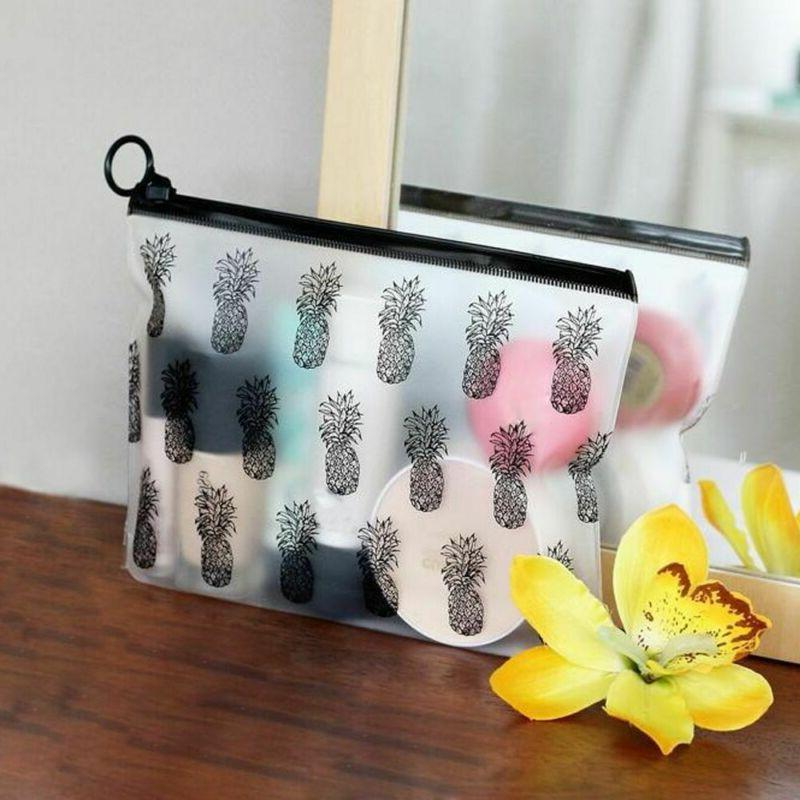Zipper Pen PVC Pouch Holder Clear