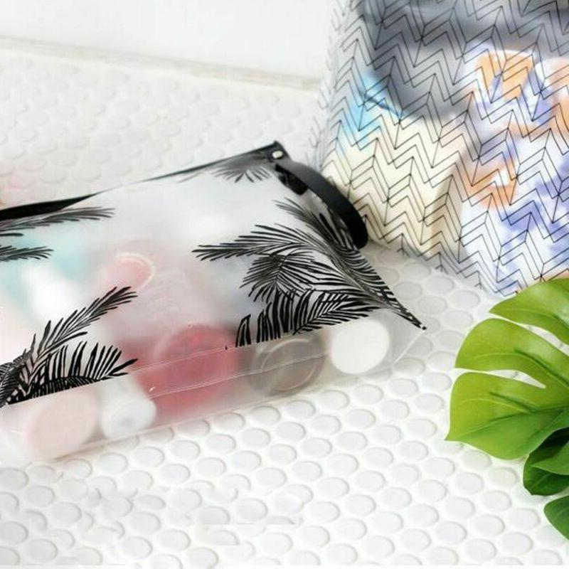 Zipper PVC Makeup Holder Clear Cosmetic