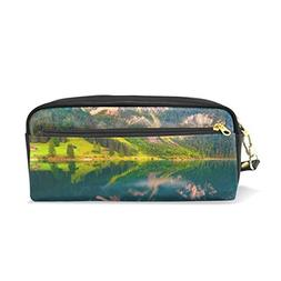 La Random Student Pencil Case Colorful Summer Sunrise Makeup