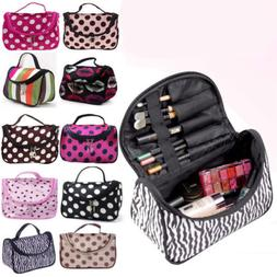 lady large travel organizer toiletry cosmetic make