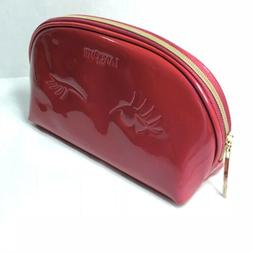 LANCOME Cosmetic Bag Makeup Travel Case - Pink / Magenta 9.5
