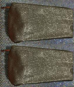 630e3fb0fd09 Lancome Gold Glitter Bag Clutch cosmetic...