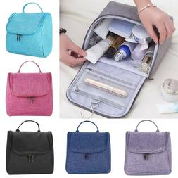 LARGE COSMETIC MAKE UP TRAVEL TOILETRY BAG CASE WASH HOLDER