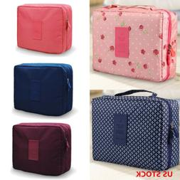Large Makeup Bag Toiletry Case Cosmetic Case Storage Handle