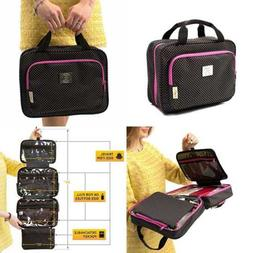 Large Versatile Travel Cosmetic Bag Perfect Hanging Toiletry