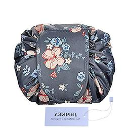 Cosmetic Makeup Organizer Lazy Drawstring Cosmetic Bag Large