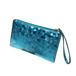 LiPing Sequins Sparkling Bling Handy Bag Travel Cosmetic Clu