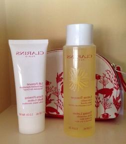 Lot 3 Clarins Toning Lotion Camomile + Ex-Firming Body Lotio