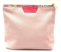 Lot of 3: Estee Lauder Pink  Cosmetic Makeup Travel Bag