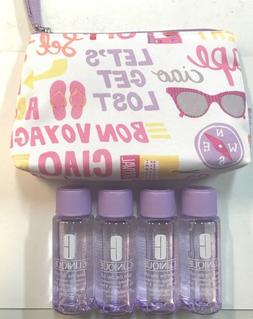 Clinique LOT OF 4 Take The Day Off Makeup Remover for Lids L