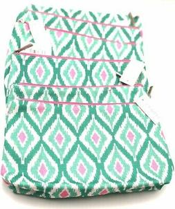 Lot of 8: Clinique Cosmetic Makeup Bag Zipper Pouch with Dia