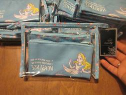 Disney Loungefly Alice In Wonderland Makeup 3 Bag Set Cosmet