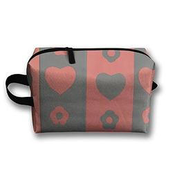 Love Shape Cosmetic Bag For Purse Cosmetic Bag Accessory Cas