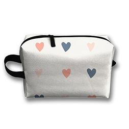 Love Shape Cosmetic Pouch Cosmetic Bag Travel Cosmetic Bags